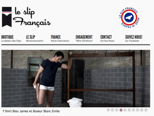 slip francais made in France