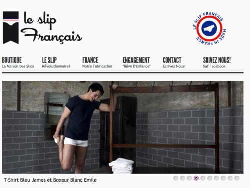 slip francais made in France